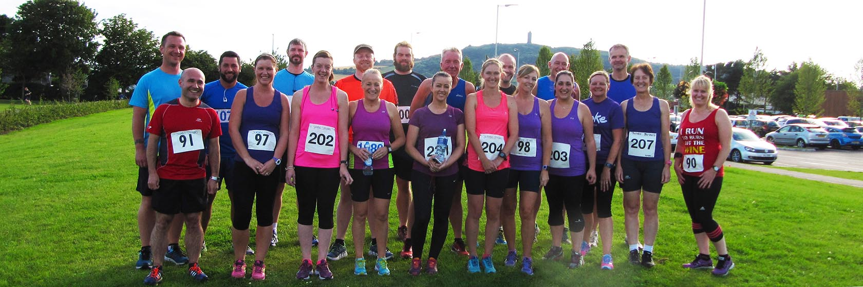Scrabo Striders at Ards 5 Mile Challenge
