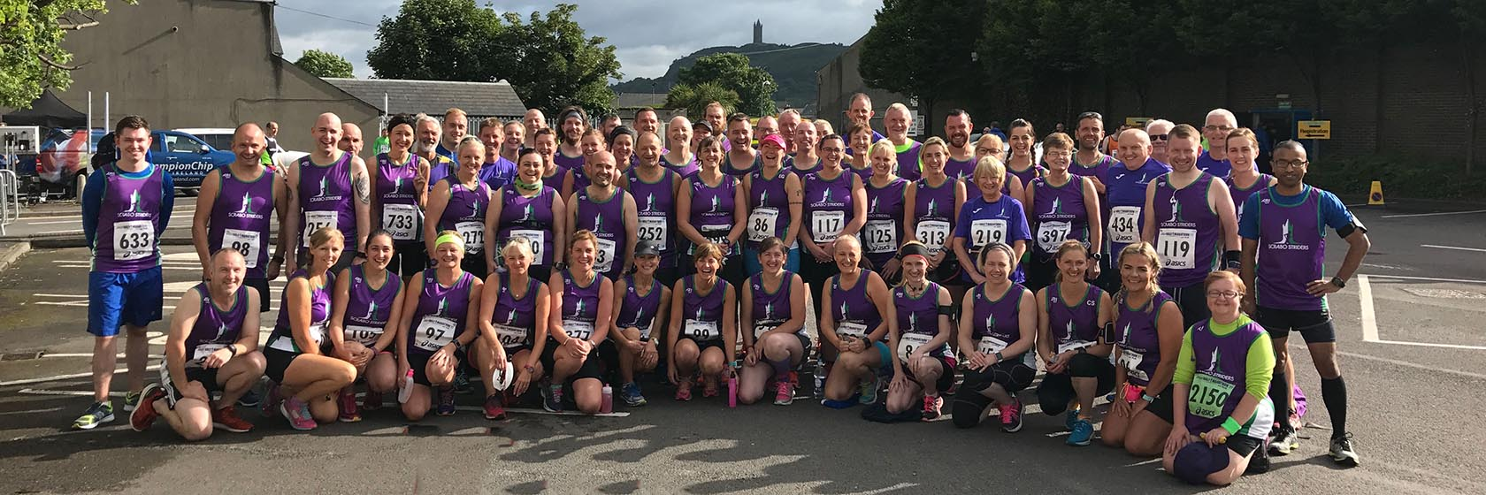 Striders at the Ards Half Marathon 2017