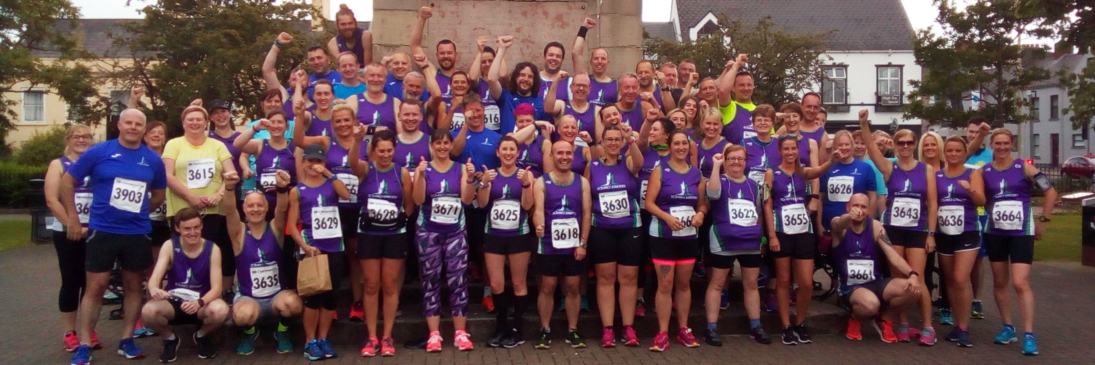Scrabo Striders at Comber 10K
