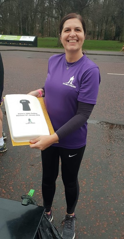 Elaine McGonigal 100th Parkrun Stormont Sat 12 Jan 2019.jpg