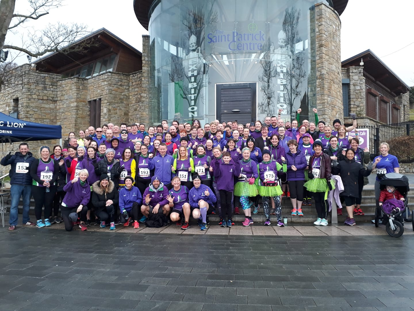 With over 126 athletes competing, Scrabo Striders had the single biggest club turnout at Jimmy's 10K.
