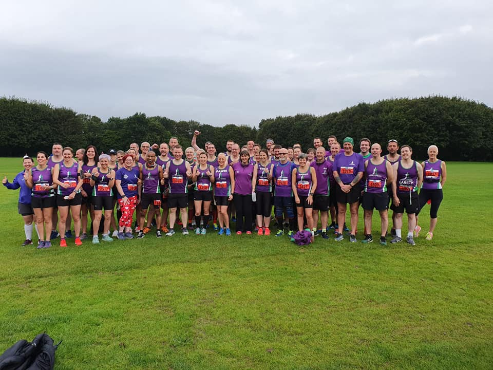 Scrabo Striders at 2019 Belfast City Half Marathon.jpg